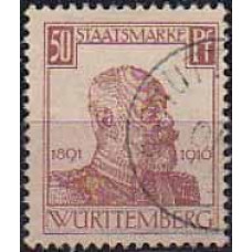 1916 Germany Wurttemberg Michel D249 used 35.00 €