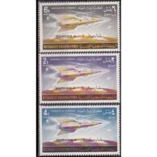 1964 Yemen (Kingdom) Mi.79-78 Rockets 12,00 €