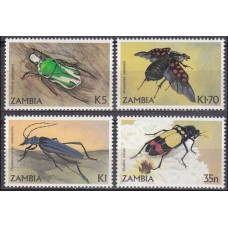 1986 Zambia Mi.349-352 Insects 5.00 €