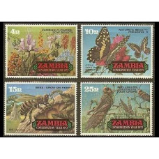 1972 Zambia Mi.89-92 Insects 13.00 €