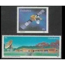 1985 Zimbabwe Mi.307-308 Satellite 8,50 €