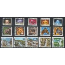 1980 Zimbabwe Mi.227-241 Fauna 16,00 €