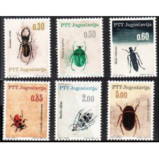 1966 Jugoslavia Mi.1158-1163 Insects 1,50 €