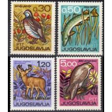 1967 Jugoslavia Mi.1228-1231 Fauna 3,00 €