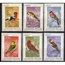 1968 Jugoslavia Mi.1274-1279 Song birds 10,00 €