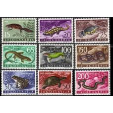 1962 Jugoslavia Mi.1007-1015 Fauna 25,00 €