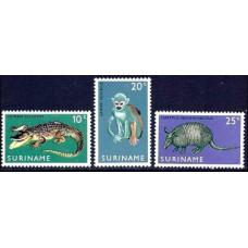 1969 Surinam Mi.558-560 Fauna 3.00 ?