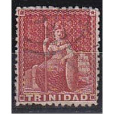 1863 Trinidad and Tobago Mi.19Ab w-1 Victoria 6.00 ?