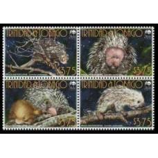 2008 Trinidad & Tobago Mi.?4v Fauna 6,00 €