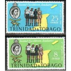 1961 Trinidad & Tobago Mi.187-88* Scouts 0.90