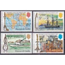 1973 Tristan da Cunha Mi.181-184 Ships with sails 3,80 €