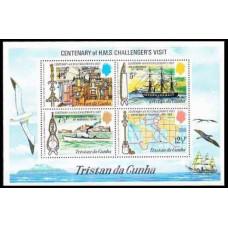 1973 Tristan da Cunha Mi.181-184/B1 Ships with sails 4,00 €