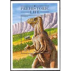 1995 Uganda Michel 1533/B237 Dinosaurs 6.00 ?