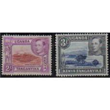 1938 Uganda Kenya Tanganyika M 67D.68C**mint George VI 57.00 €