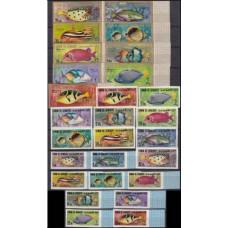 1967 Umm Al Qiwain Mi.171-197b Sea fauna 30,00 €