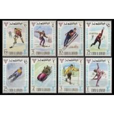 1968 Umm Al Qiwain Mi.233-40 1968 Olympics Grenoble 8.00 €