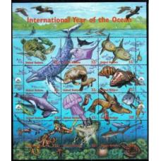 1998 UNO New York Mi.771-782KL Sea fauna 8,00 €