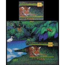 1998 UNO New York Mi.783+784/B15 Cats 4,60 €
