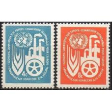 1959 UNO New York Mi.78-79** Europa 0,70