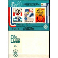 1975 Uruguay Michel 1372-1374/B28b 1978 World championship on football of Argentina 45.00 ?