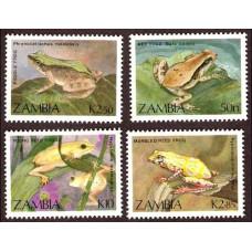 1989 Zambia Mi.470-473 Fauna 6.00 ?